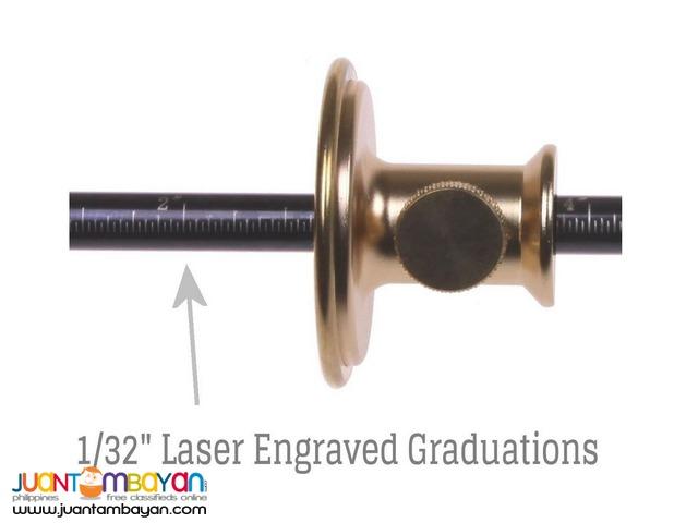 iGaging Brass Wheel Marking Cutting Mortise Gauge