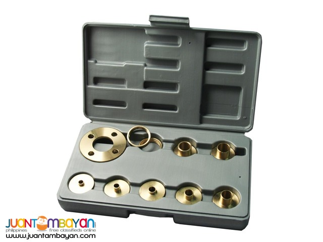 Kempston 99000 10-piece Solid Brass Template Guide Kit with Adapter