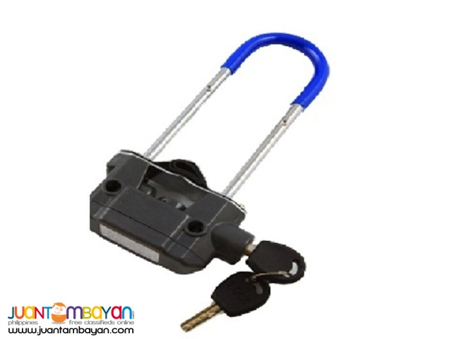 U- Lock - LK713 (Blue with Alarm)